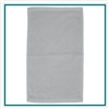 Towel Specialties 16 x 25 Turkish Cotton Ultraweight Colored Golf Towel with Custom Embroidery, Towel Specialties Custom Beach Towels, Towel Specialties Corporate Logo Gear