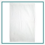 Towel Specialties Ultraweight White Golf Towel Custom