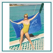Towel Specialties 40 X 70 Turkish Signature Ultraweight Colored Beach Towel with Logo Imprint, Towel Specialties Custom Beach Towels, Towel Specialties Corporate Logo Gear