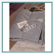 Cobblestone Mills Newcastle Sherpa Blanket Custom Embroidered