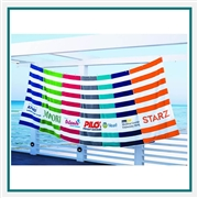 Towel Specialties 30 X 60 Beach Towel Royale with Logo Imprint, Towel Specialties Custom Beach Towels, Towel Specialties Corporate Logo Gear