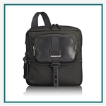 Tumi Alpha Bravo Arnold Zip Flap 1032981041 with Custom Logo, Tumi Custom Travel Flap Bags, Promo Bags