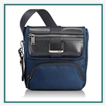 Tumi Alpha Bravo Barton Crossbody with Custom Logo, Tumi Custom Travel Messenger Bags, Promo Bags