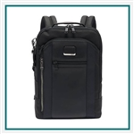Tumi Alpha Bravo Davis Backpack 1033151009 with Corporate Logo, Tumi Custom Backpacks, Promo Luggage