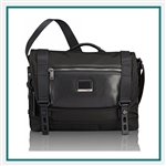 Tumi Alpha Bravo Fallon Messenger 1033211041 with Custom Logo, Tumi Custom Travel Messenger Bags, Promo Bags