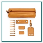 TUMI Accents Kit Tan Corporate Logo