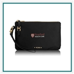 Tumi Voyageur Abilene Double Zip Pouch 110003 with Custom Logo, Tumi Custom Travel Pouch Bags, Promo Cases