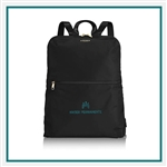 TUMI Voyageur Just In Case Travel Backpack Custom Embroidery