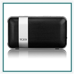 Tumi Wireless Portable Speaker with Powerbank 114301DSLV, Tumi Custom Electronics, Tumi Custom Logo