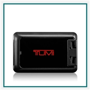 TUMI 4 Port USB Travel Adapter Corporate Branding