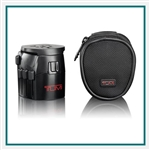 TUMI Electric Grounded Adapter with USB Custom Logo