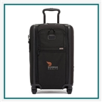 TUMI Alpha 3 International Expandable 4 Wheeled Carry On Custom Logo