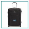 TUMI Short Trip Expandable 4 Wheeled Carry On Company Branding