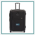 TUMI Short Trip Expandable 4 Wheeled Carry On Company Logo