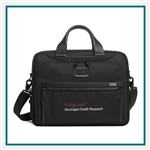 TUMI Alpha 3 Organizer Brief Custom Branded