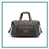 TUMI Alpha 3 Double Expansion Travel Satchel Anthracite Company Logo