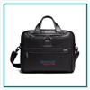 TUMI Alpha 3 Organizer Brief Leather Co-Branded