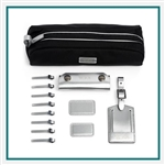 TUMI Accents Kit Reflective Silver Corporate Logo