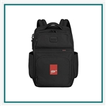 Tumi Corporate Collection Backpack with Custom Embroidery, Tumi Custom Embroidered Backpacks, Tumi Corporate Gifts