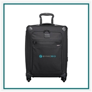 TUMI Continental Carry On Custom Embroidered