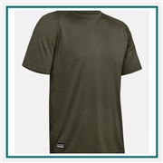 Under Armour Men's Tactical Tech S/S T-Shirt with Custom Silkscreen, Under Armour Co-Branded T-Shirts