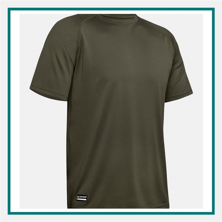 8a980a71 Under Armour Men's Tactical Tech S/S T-Shirt with Custom Silkscreen, Under