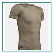 UA M Tactical HeatGear Compression T-Shirt Custom Embroidered