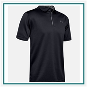 Under Armour Men's UA Tech Golf Polo 1290140 with Custom Embroidery, Under Armour Custom Polos, Under Armour Custom Logo Gear