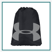 Under Armour Ozsee Sackpack 1240539 with Custom Embroidery, Under Armour Corporate Bags, Under Armour Promotional Backpacks