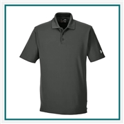 Under Armour Men's Corporate Performance Polo 1261172 with Custom Embroidery, Under Armour Corporate Polos, Under Armour Promotional Polos
