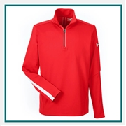 Under Armour Men's Qualifier 1/4 Zip Pullover 1276312 with Custom Embroidery, Under Armour Custom Pullovers, Under Armour Custom Logo Gear