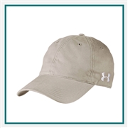 Under Armour Unisex Adjustable Chino Cap 1282140 with Custom Embroidery, Under Armour Promotional Golf Caps, Under Armour Branded Headwear