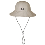 Under Armour Unisex Warrior Solid Bucket Hat with Custom Embroidery, Under Armour Corporate Hats, Under Armour Unisex Hats