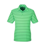 Under Armour Men's Tech Stripe Polo Custom Embroidered