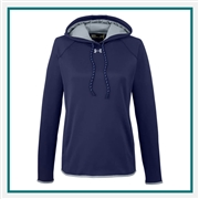 Under Armour Women's Double Threat Armour Fleece Hoodie Custom Embroidered