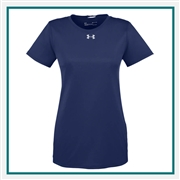 Under Armour Women's Locker T-Shirt 2.0 Custom Embroidered