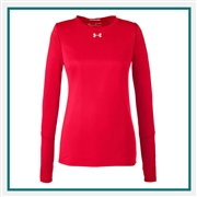 Under Armour Women's Locker Long-Sleeve T-Shirt 2.0 Custom Embroidered