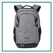 Under Armour Hustle II Backpack 1306060 with Custom Embroidery, Under Armour Corporate Apparel, Under Armour Backpacks