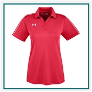 Under Armour Women's Tech Polo 1309537 with Custom Embroidered