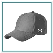 Under Armour Unisex Blitzing Curved Cap Custom Embroidered