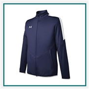 Under Armour Rival Knit Jacket Embroidered