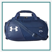 Under Armour Unisex Undeniable Small Duffel Bag Custom Embroidered