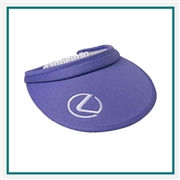KATE LORD Bungie Cord Visor with Custom Embroidery, KATE LORD Custom Visors, KATE LORD Custom Logo Headwear
