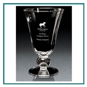 Hand Blown European Crystal Adagio Vase, Crystal Vases with Engraved Logo, Crystal Golf Tournament Awards Best Price, Engraved Glass Vase Awards, Engraved Gifts