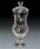 European Crystal Shannon Trophy Cup, Crystal Trophy Cups Engraved, Crystal Golf Award Cups, Engraved Crystal Golf Awards