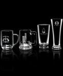 Heavy Base Pilsner 15 Oz. Glass with Sand Etched, Glasses Gift Set, Corporate Gifts