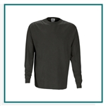 Vantage Color Wash Long Sleeve T-Shirt with Custom Embroidery, Vantage 0272 Custom Embroidered, Vantage Corporate Apparel, Vantage Corporate Wear