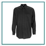 Vantage Men's Easy-Care Solid Textured Shirt with Custom Embroidery, Vantage Custom Dress Shirts, Vantage Custom Logo Gear