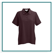 Vantage Women's Soft-Blend Double-Tuck Pique Polo with Custom Embroidery, Vantage Custom Polos, Vantage Custom Logo Gear
