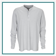 Vantage Men's Cambridge Henley with Custom Embroidery, Vantage Custom T-Shirts, Vantage Custom Logo Gear